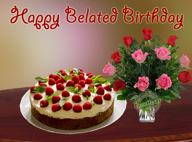 Belated Birthday Wishes Images For Friends
