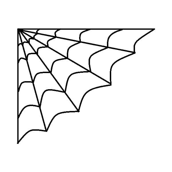 Spider Web Clipart Png