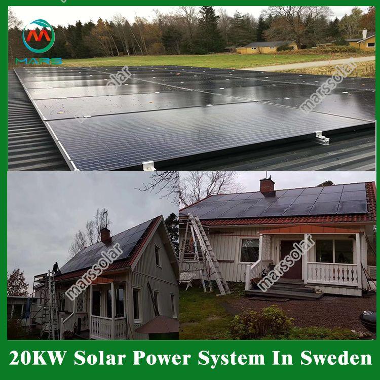 20kw Solar System In Sweden In 2020 Solar Solar Power Panels Solar Energy Facts