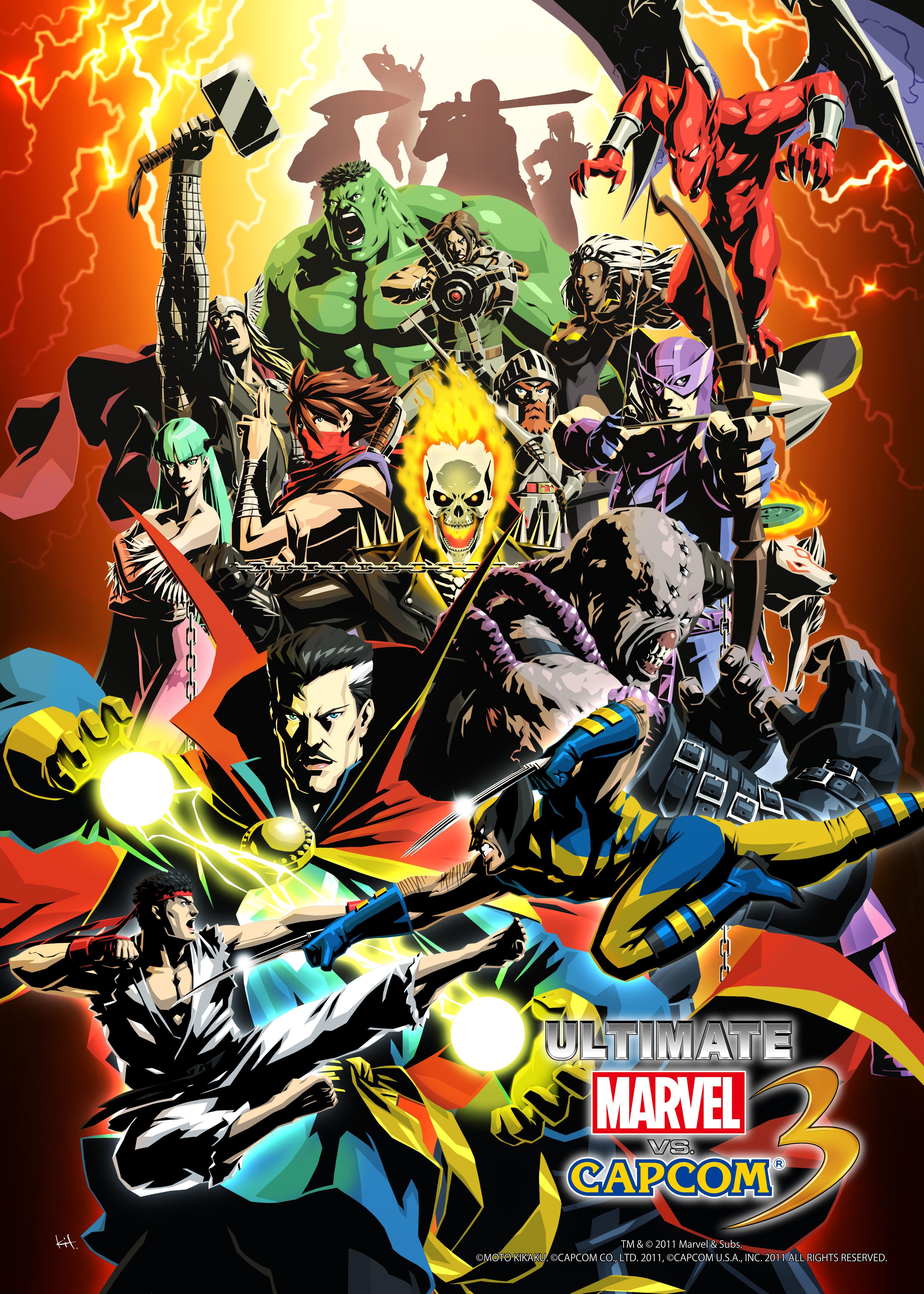Ultimate Marvel Vs Capcom 3 Marvel Vs Capcom Ultimate Marvel Marvel Vs