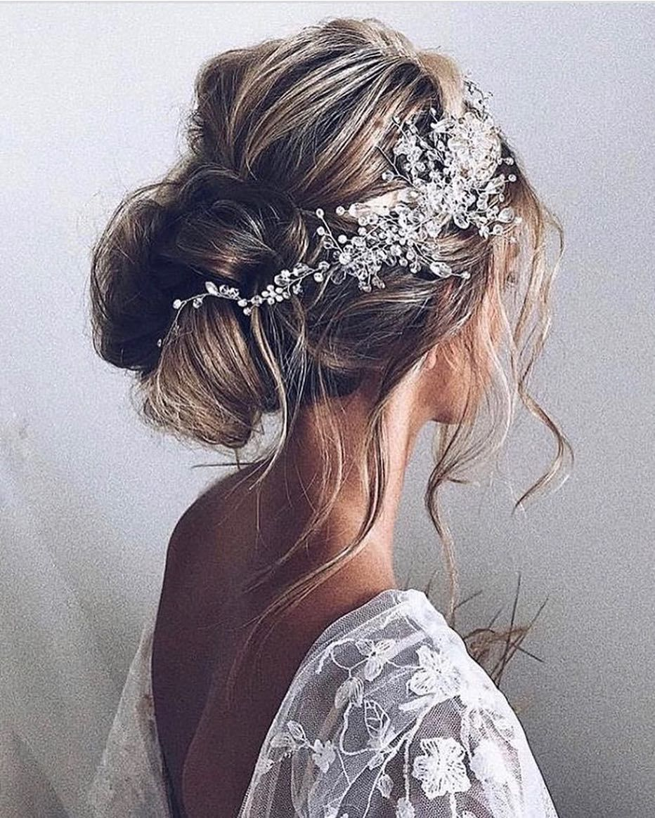 An amazing updo that will showcase your dress Via ulyanater
