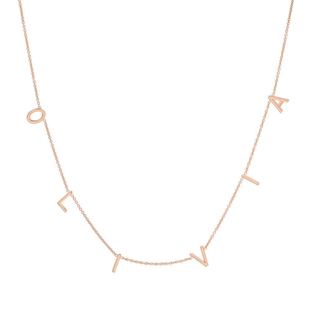 075734048cc55 THE ORIGINAL SPACED LETTER NECKLACE® - Large $315.00 in 2019 ...