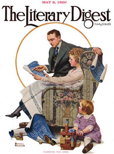 Looking over the plans-Literary Digest May 8, 1920