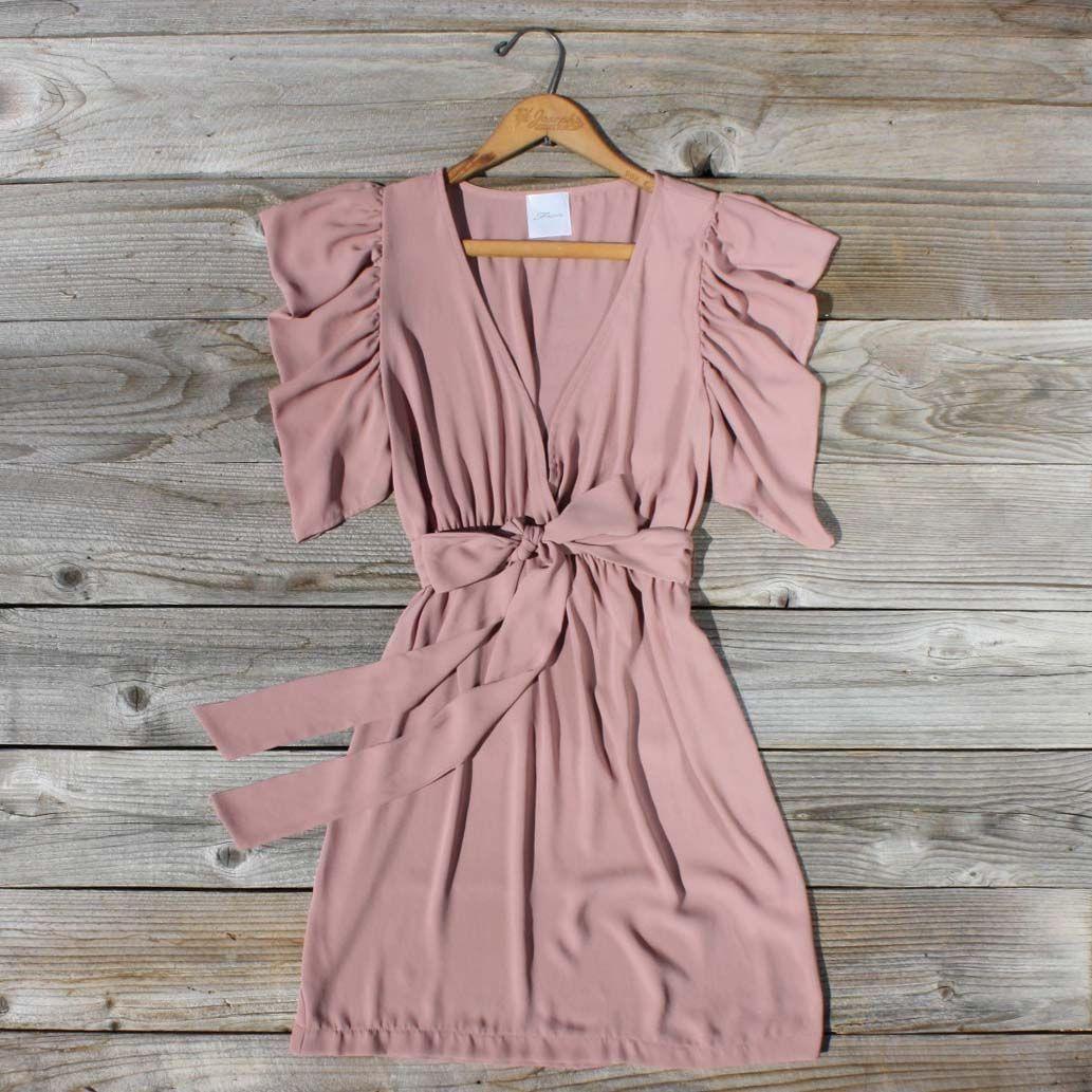 Timber Dust Dress, Sweet Women's Bohemian Clothing