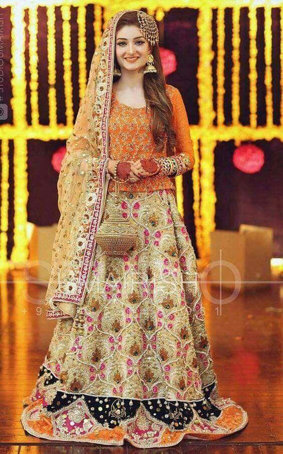 943b0ab935 Bridal Mehndi Dresses, Latest Mehndi, Asian Bride, Dress Collection