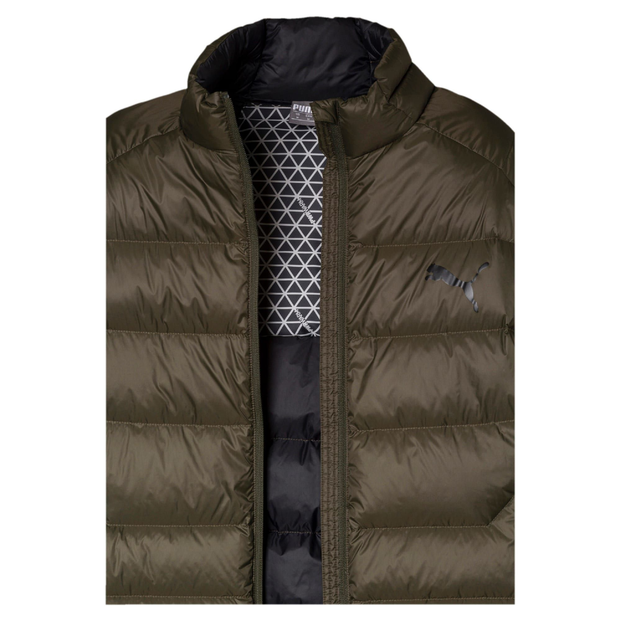 PUMA PWRWarm packLite 600 Down Men's Jacket in Forest Night