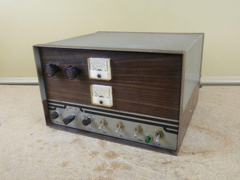 Vintage D&A Maverick 250 Linear Amplifier Tube HAM Radio