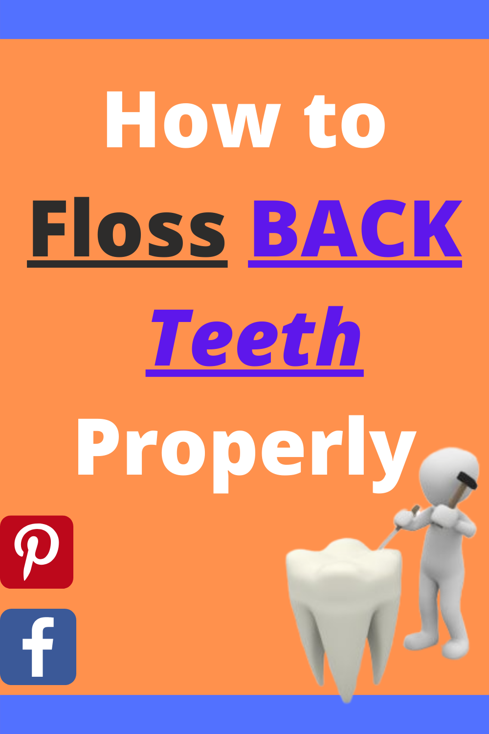 How To Floss BACK TEETH Properly in 2020 Floss, Flossing