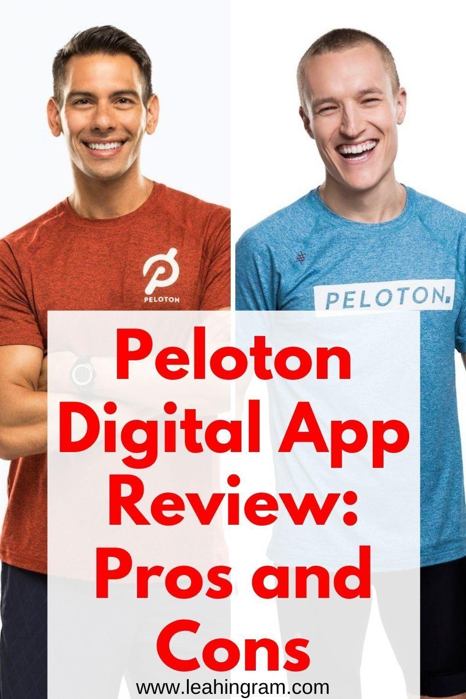 Peloton Digital App Review Leah Ingram In 2020 Workout Plan App Peloton App Reviews