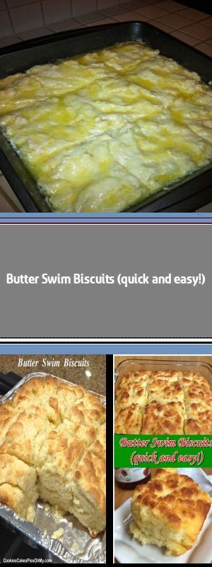 Butter Swim Biscuits (quick and easy!) This simple homemade recipe is TO DIE FOR! The butter makes these biscuits soft and moist on the inside, with a flaky crust on the outside. Add a little jam or jelly, and you've got heaven. #butterswimbiscuits Butter Swim Biscuits (quick and easy!) This simple homemade recipe is TO DIE FOR! The butter makes these biscuits soft and moist on the inside, with a flaky crust on the outside. Add a little jam or jelly, and you've got heaven. #butterswimbiscuits Bu #butterswimbiscuits