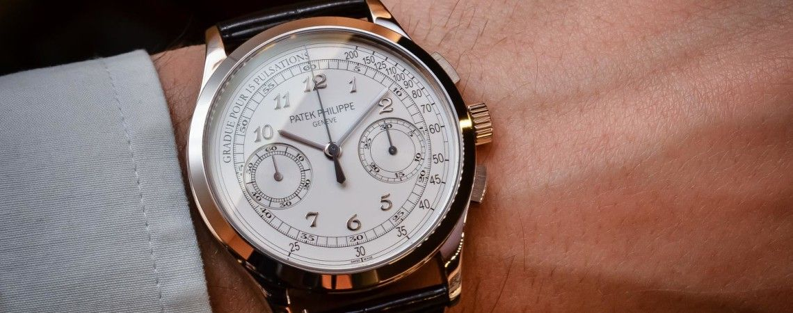 Why the Patek Philippe 5170G Chronograph is such a cool watch - Review with live photos & price - Monochrome Watches