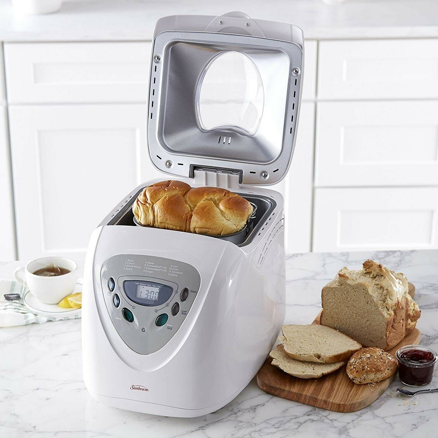 Bread Making Machine Automatic Breadmaker Best Oven Home Bakery