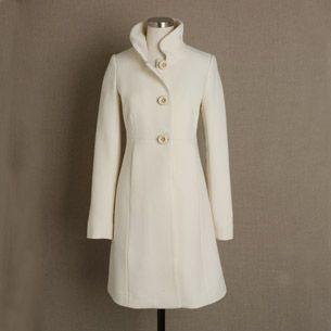 White Coat | ~ White ~ | Pinterest | Wool coats, Jcrew and White coats