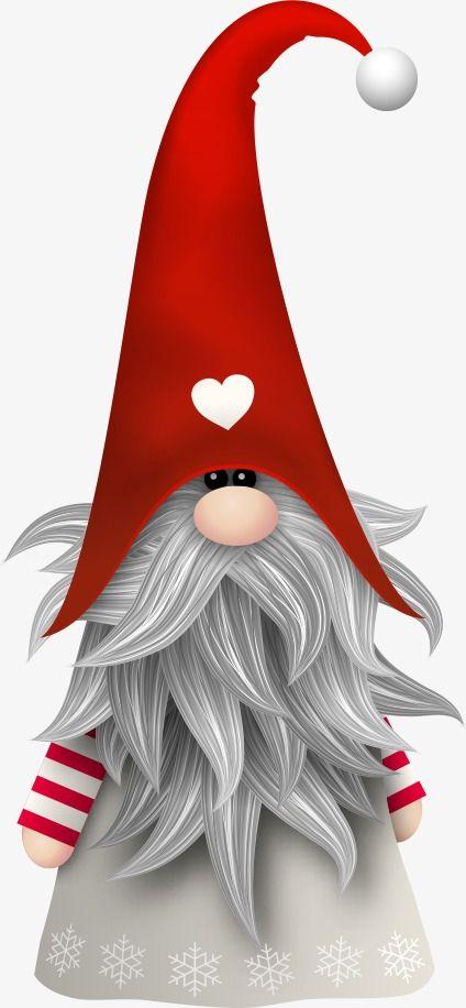 Gnome Clip Art: Vector Santa Claus Creative, Santa Claus, Creative