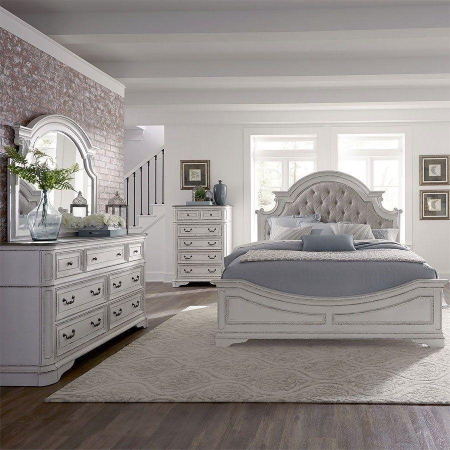 Magnolia Manor Panel Bedroom Set Liberty furniture