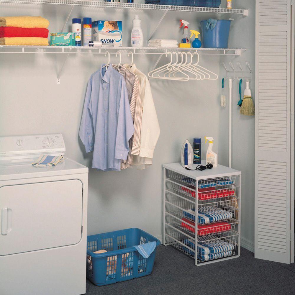 Closetmaid Shelf And Rod 6 Ft X 12 In Ventilated Wire Shelf 1361