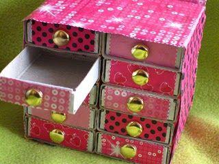 Ni 1 ni 2 22 ideas para decorar cajas de cerillas Decorar caja