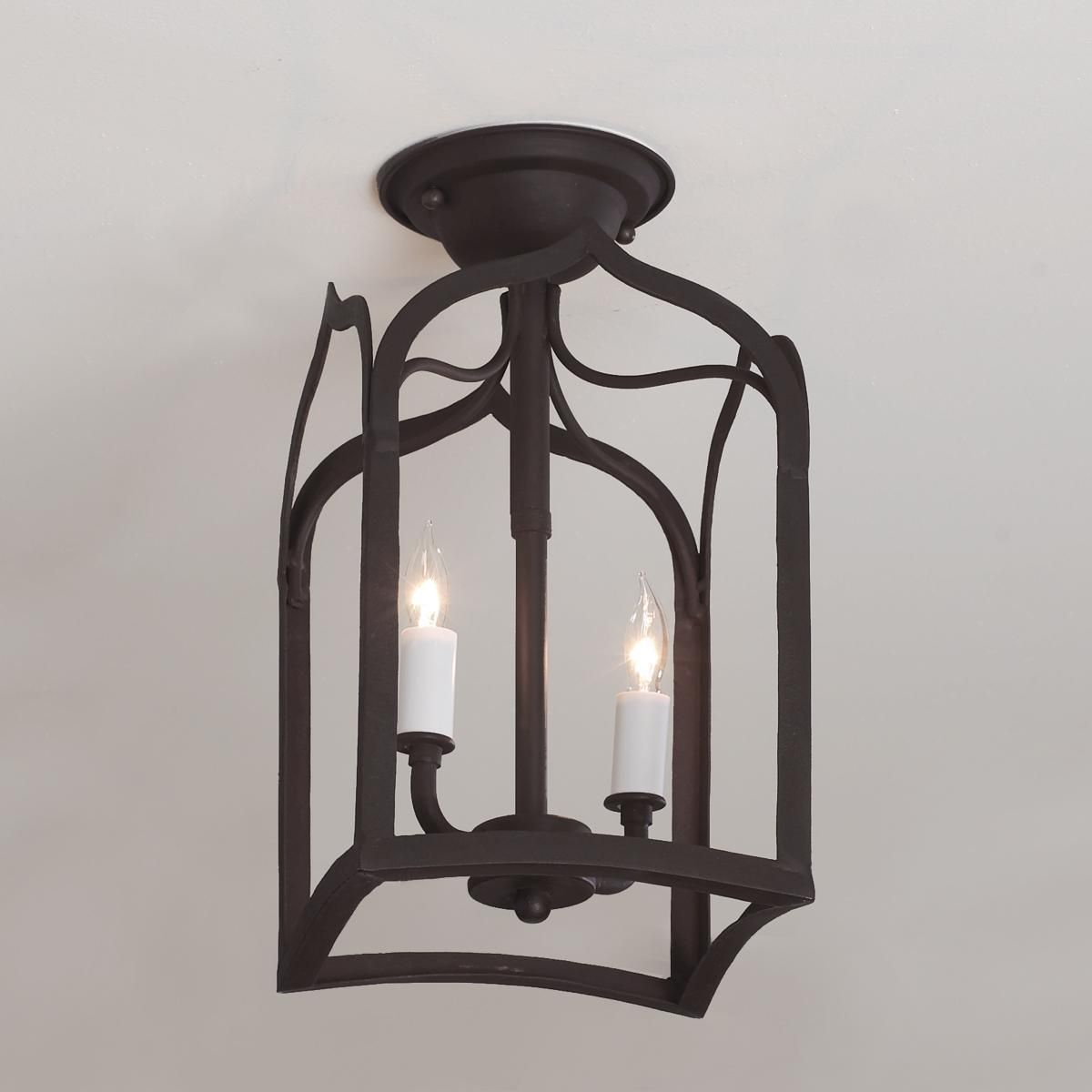 Gothic Arch Iron Ceiling Light Ceiling Lights Ceiling