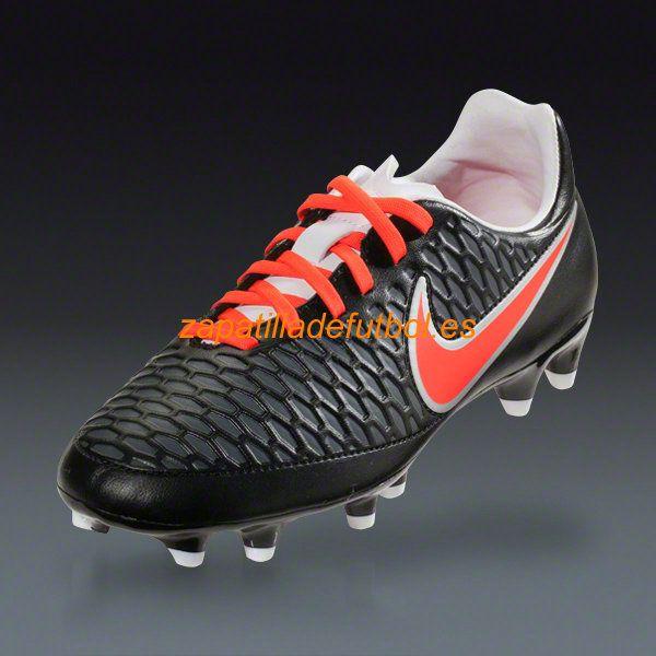 Zapatos de Soccer Nike Magista Onda FG Plateado Negro Brillante Carmesi  Oscuro Blanco Gris Metalizado 8a014e08d6764