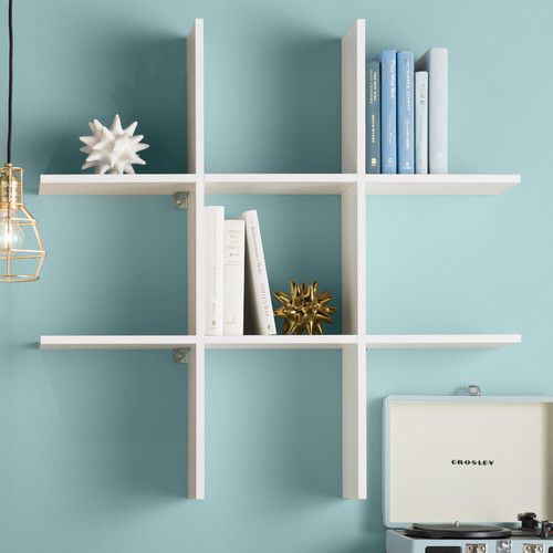 Found it at Wayfair - Erica 6-Shelf Tic-Tac Accent Shelf