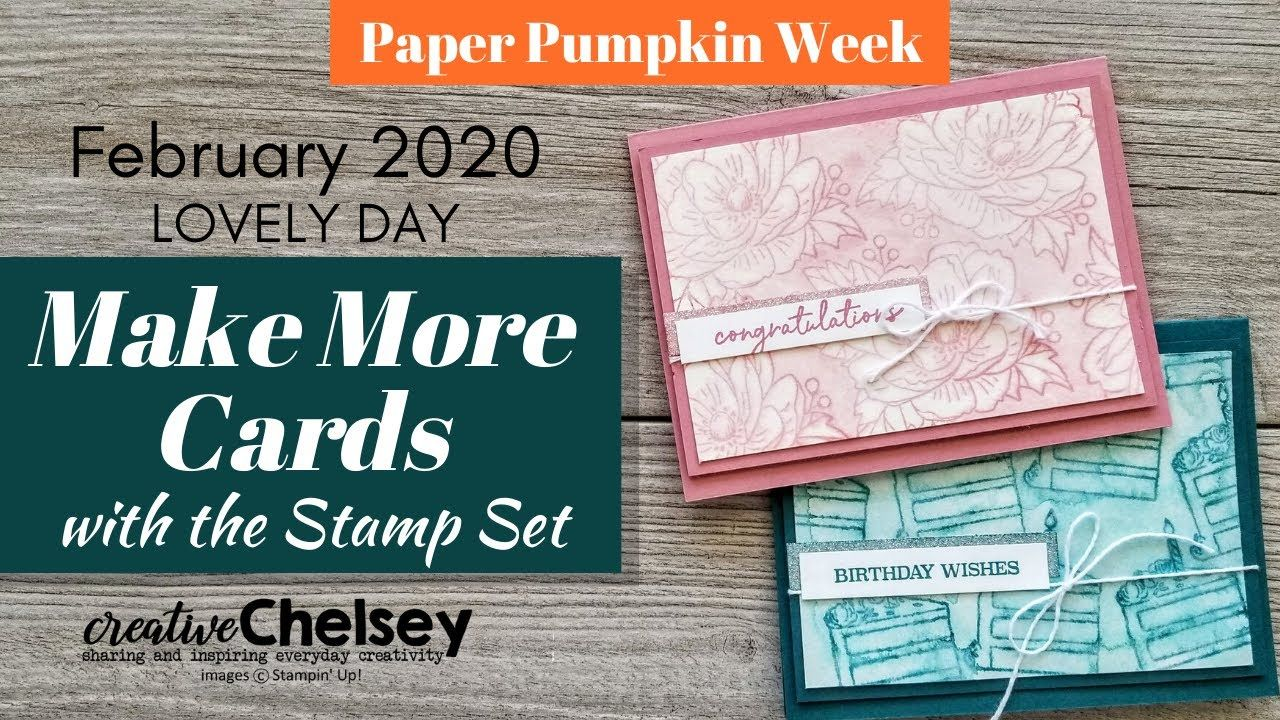February 2020 paper pumpkin subscription box lovely day