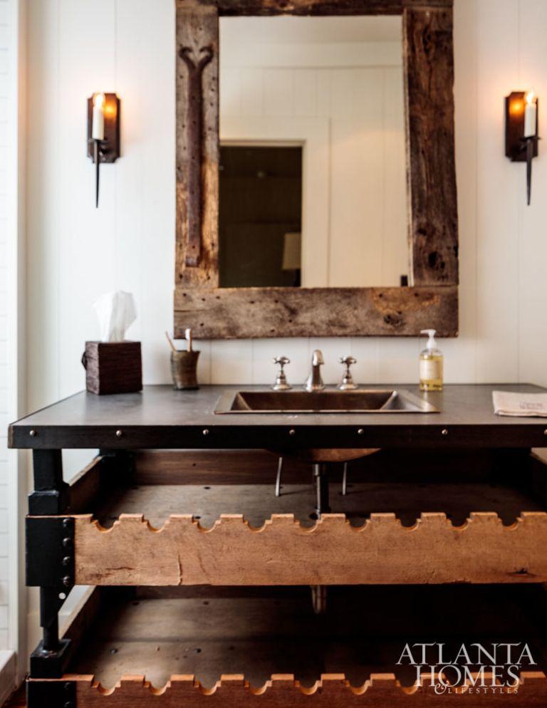 Hunting Lodge Bathroom Hunting Lodge Lodge Bathroom Lodges Design