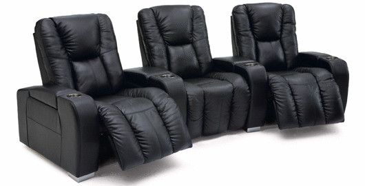 The Vegge is the ultimate home theater set.  Available in fabric or leather and endless configurations.
