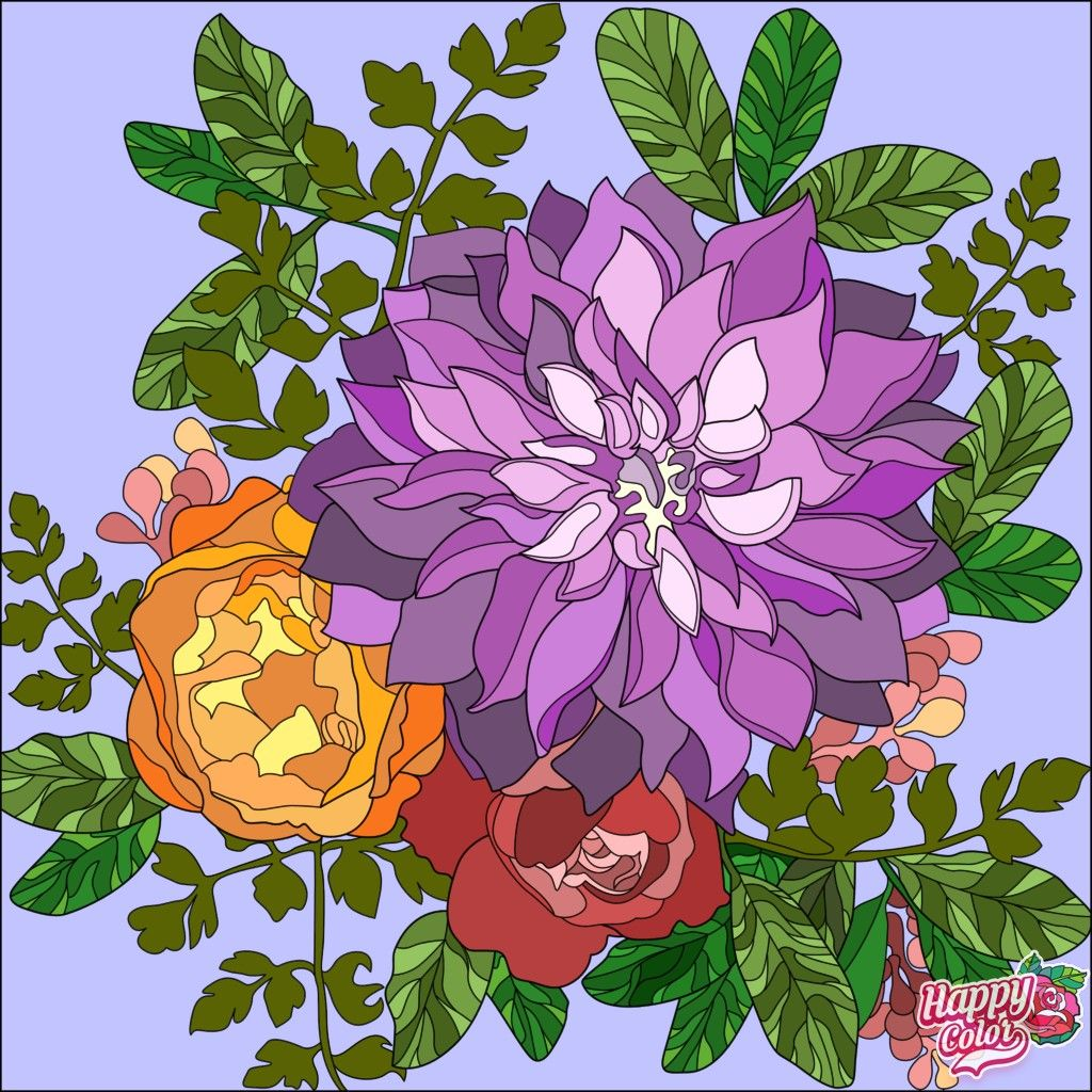 Pin By Stormii On Color By Number Apps Colorful Art Coloring Pictures Happy Colors