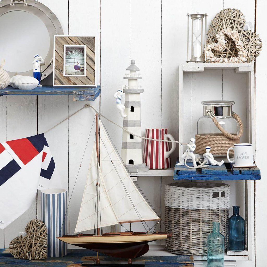 Cute Vintage Nautical Decor Great Furniture Ideas