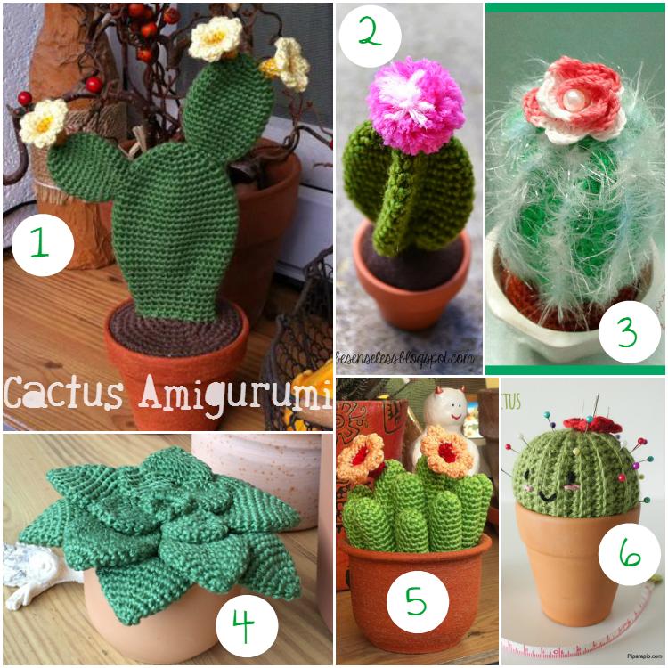 Amigurumi Cactus And Flower Crochet Pattern : Scarabocchi di pensieri: Scarabocchi di creativit? ...