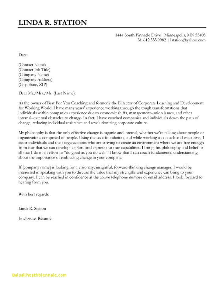 Good application letter