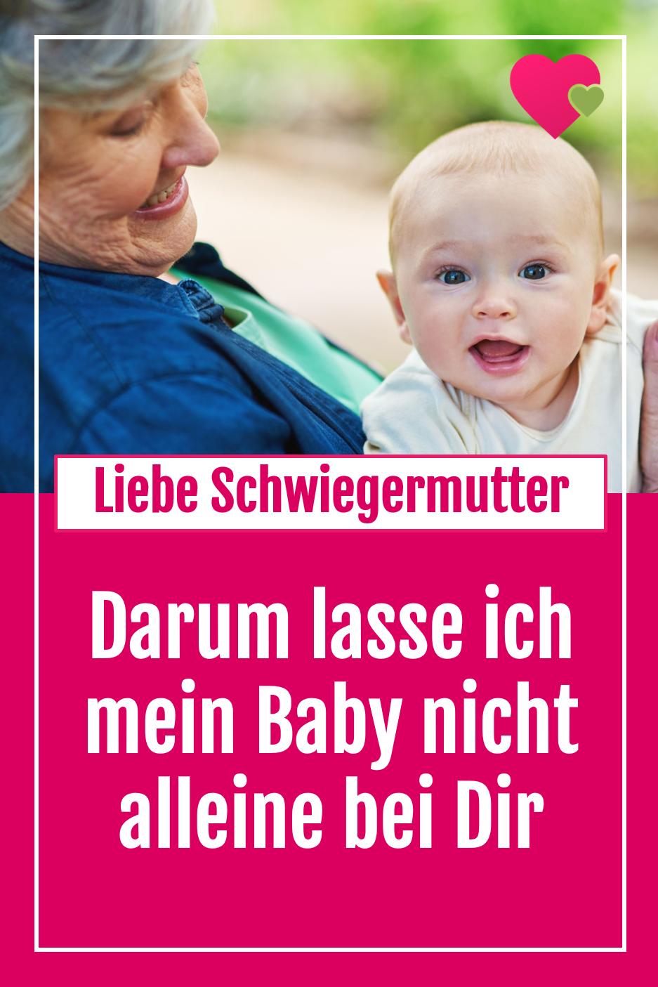 Schwiegermutter Will Enkel Alleine Haben