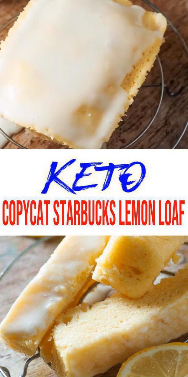 Keto Lemon Bread #ketosnacks