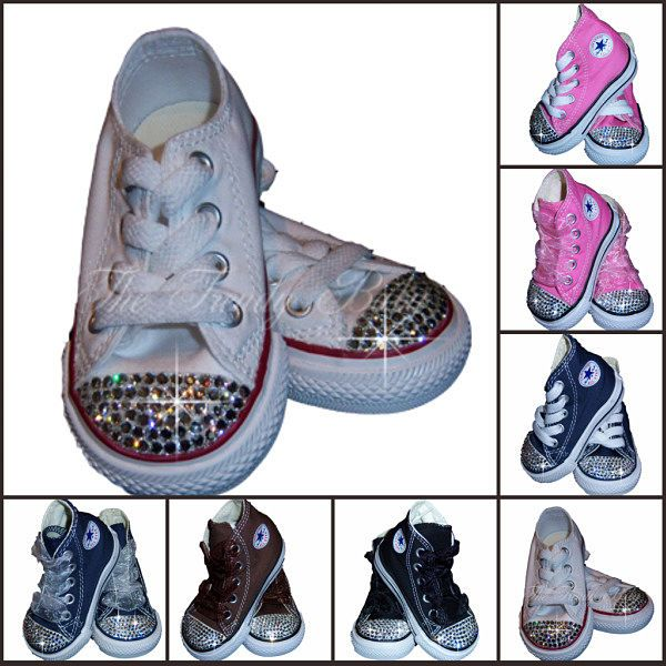 081d997f0ccb Doesn t really get better than this for baby clothing coolness - Design  Your Own Converse Bling Shoes.  Kat Ellis Dinon isn t this AWESOME