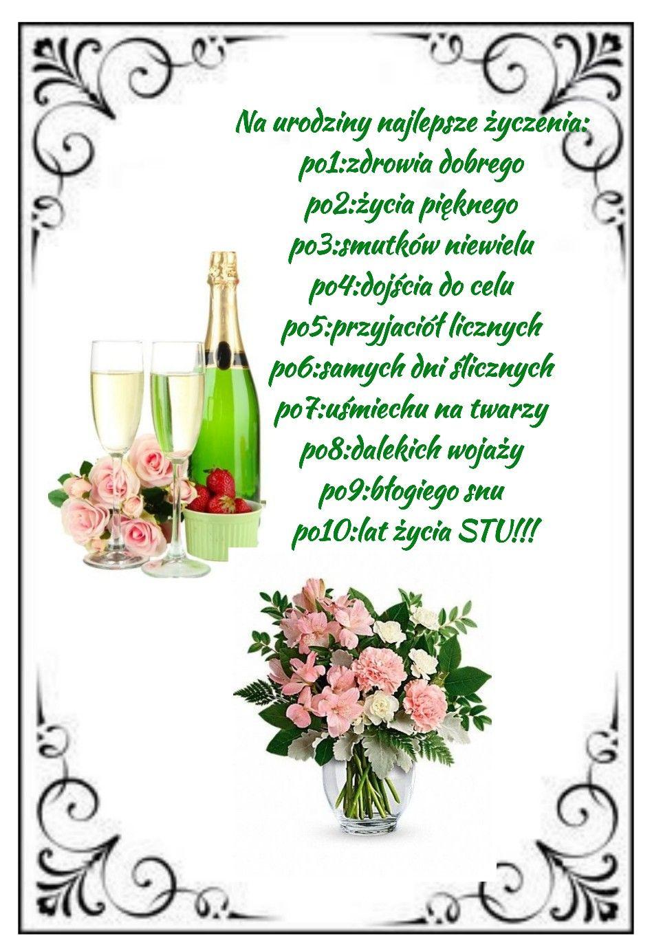 Pin By Elzbieta Cyron On Zyczenia Urodzinowe I Imieninowe Birthday Cards Birthday Cards