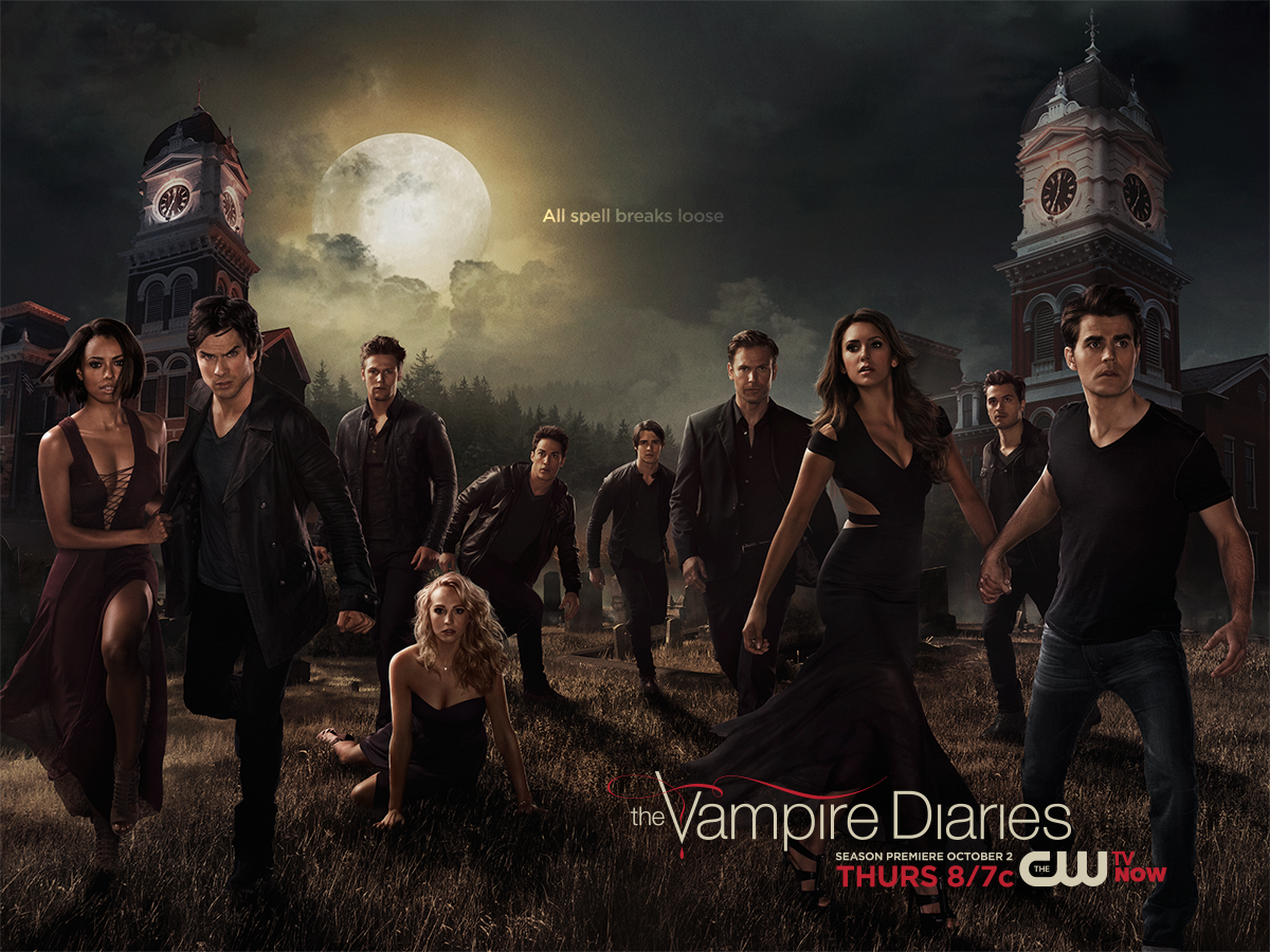 All spell breaks loose. #TVD Season 6 premieres Thursday, Oct. 2 at 8/7c!