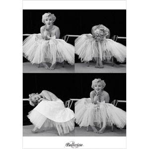"Marily Ballet Dress 22.375"" x 34"" Poster Print"