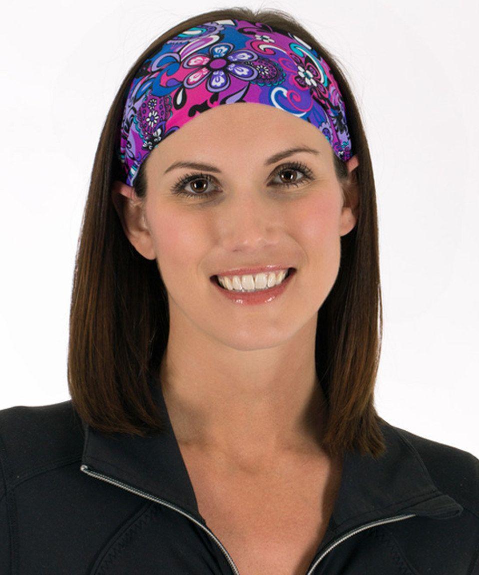 Purple Melinda Headband by Fit Chic Headbands #zulily #zulilyfinds