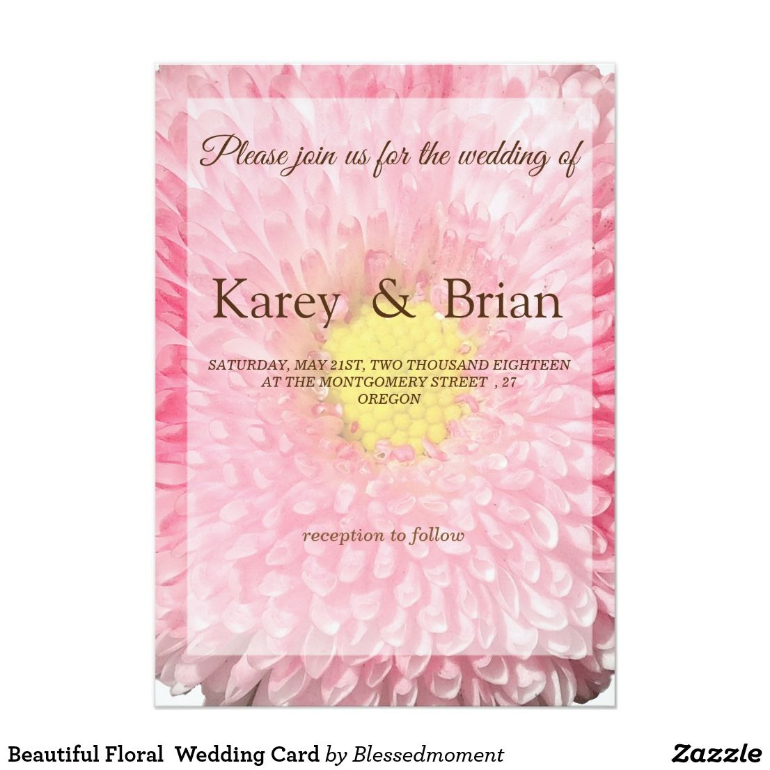 Beautiful Floral Wedding Card | Awesome Wedding & Anniversary sets ...
