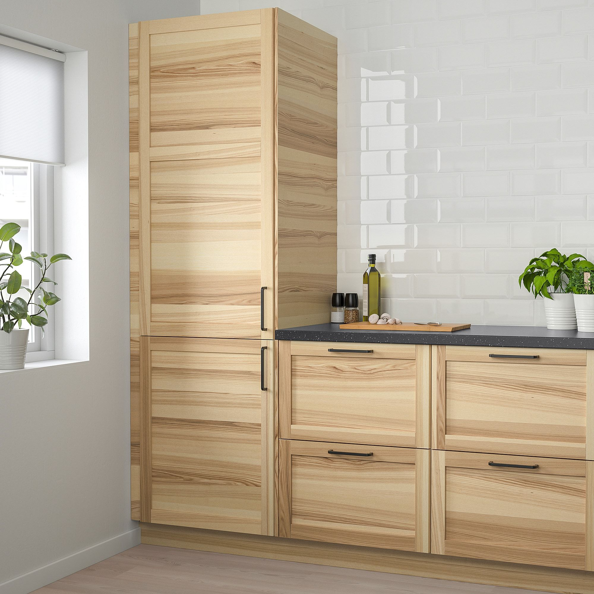 Torhamn Door Natural Ash Ikea In 2020 Kitchen Cupboard Doors Kitchen Design Open Kitchen And Bath Remodeling