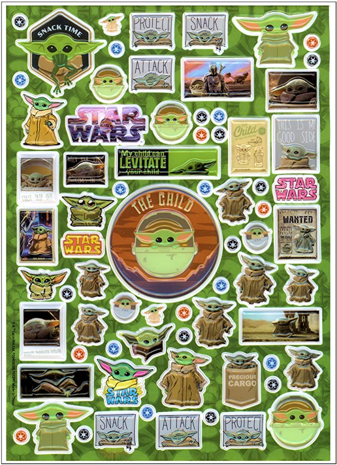 Amazon Com Star Wars Mandalorian Coloring Book Set With Baby Yoda Stickers And Specialty Door Hanger Star Wa Yoda Sticker Star Wars Stickers Coloring Book Set