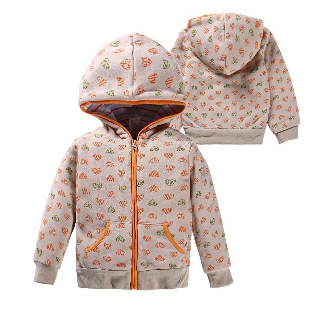 53033a9a3 2017 baby girl Spring Hoodie Sweatshirts 100% Cotton jacket for baby ...