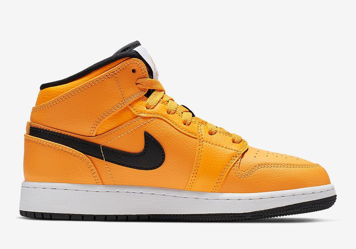The Air Jordan 1 Mid Gets A Full Bright