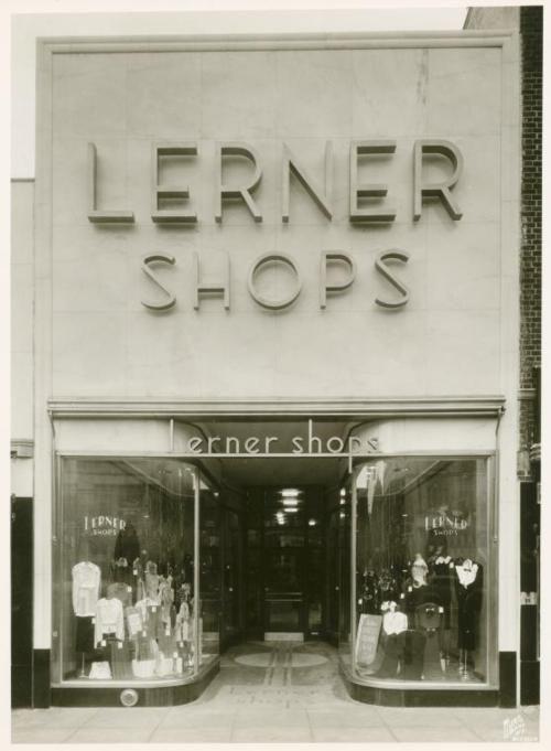 Lerner Shops, Brooklyn, NYC, New York Historic 1930s Photo