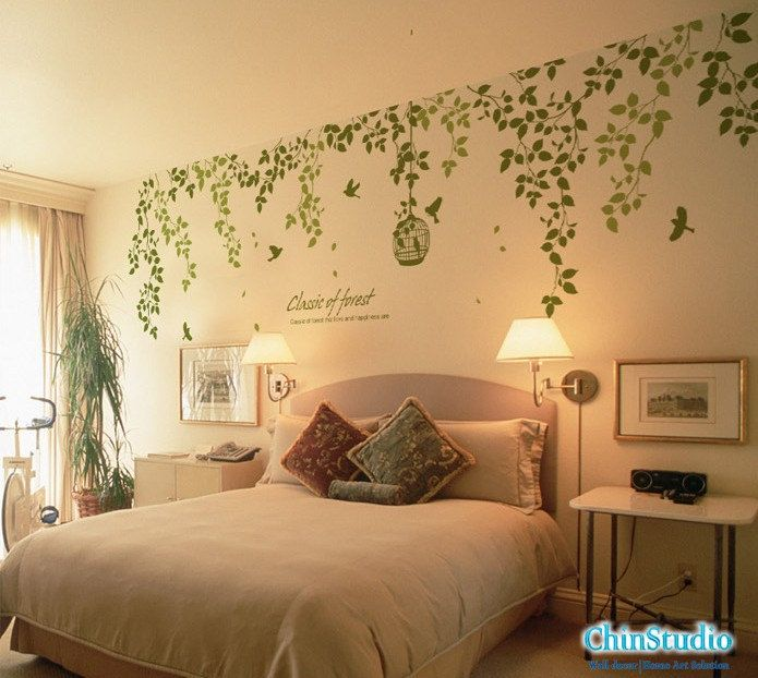 Vinyl Wall Decals wall sticker nature wall decals-Classic of forest ...