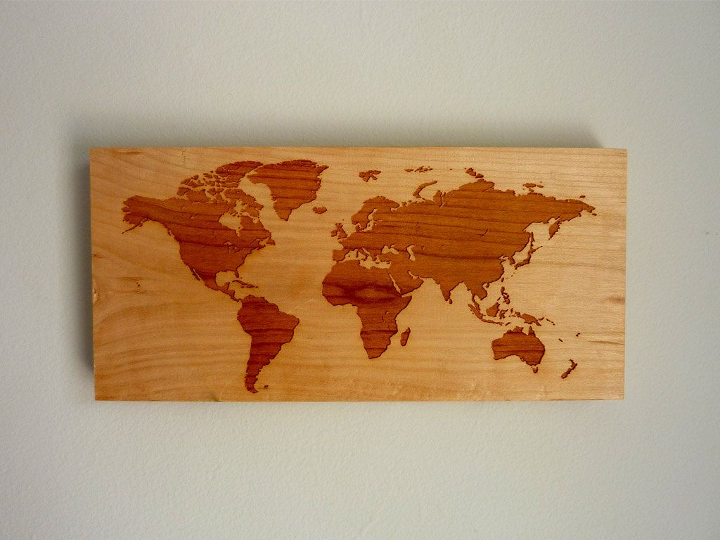 world map modern wall hanging  rustic wooden map sign  modern  - world map modern wall hanging  rustic wooden sign  via etsy