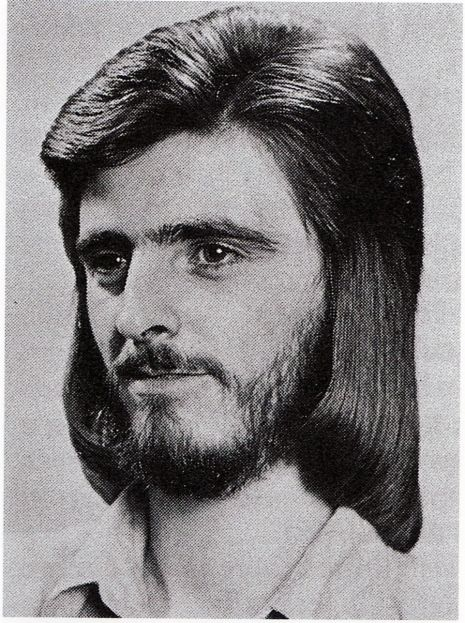 A gorgeous gallery of 'ultra-chic' men's hairstyles from the 70s | Mens hairstyles, Romantic ...