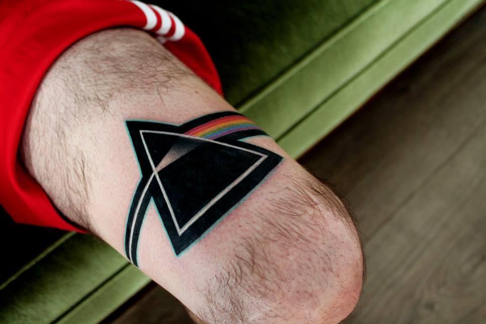 Lorenzo loreprod anzini tattoo artist pink floyd