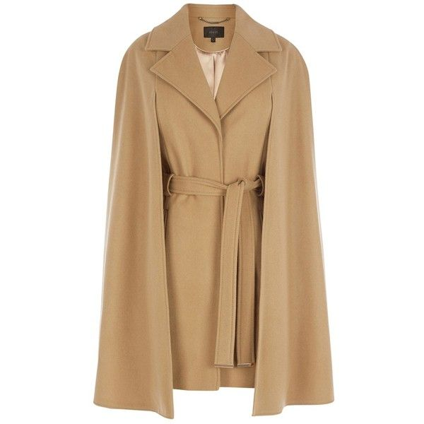 Coast Ostaria Cape Coat, Camel ($170) ❤ liked on Polyvore ...