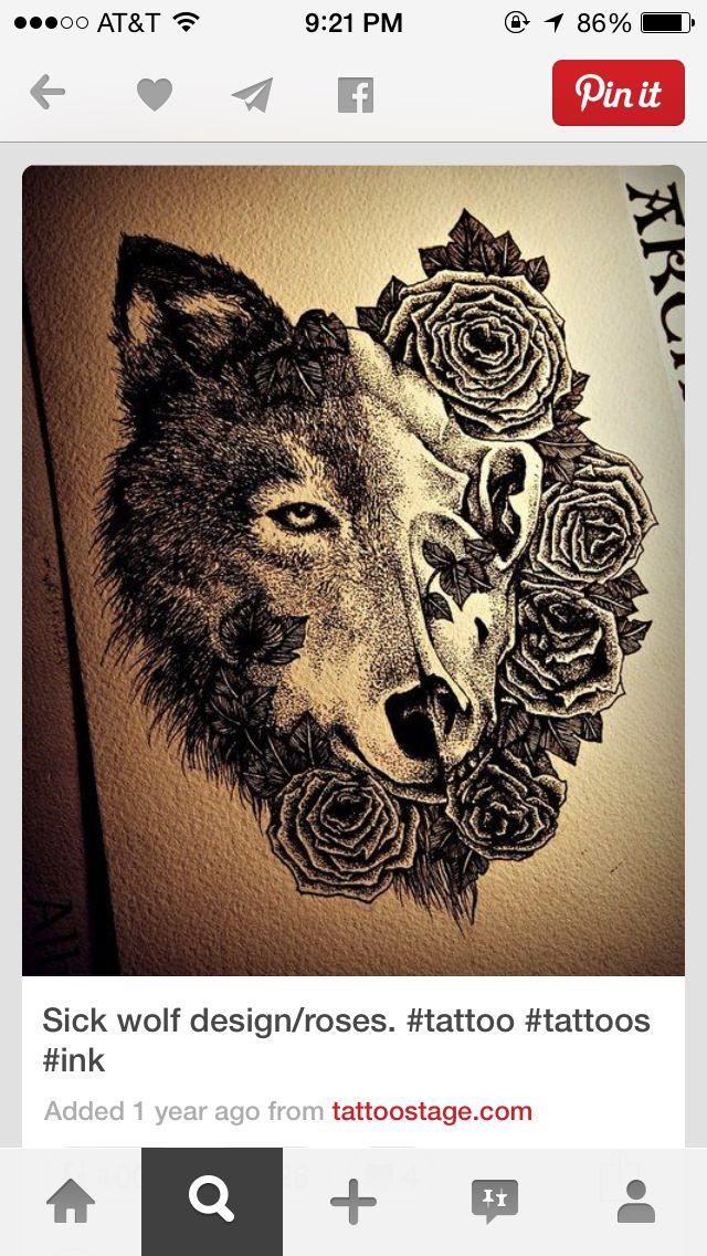 Good Wolf Bad Wolf Tattoo : tattoo, Tattoo, Design